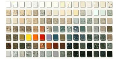 carta colores corian
