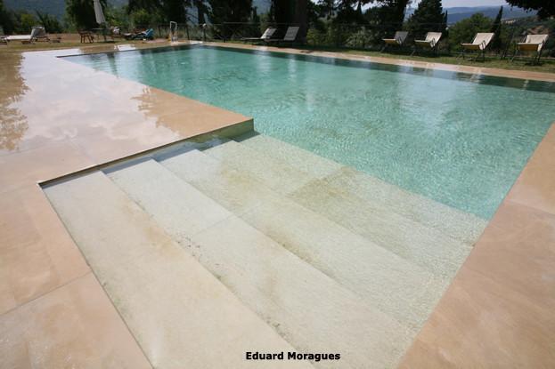 Eduard moragues piedra para el pavimento de piscinas en - Piedras para piscinas ...