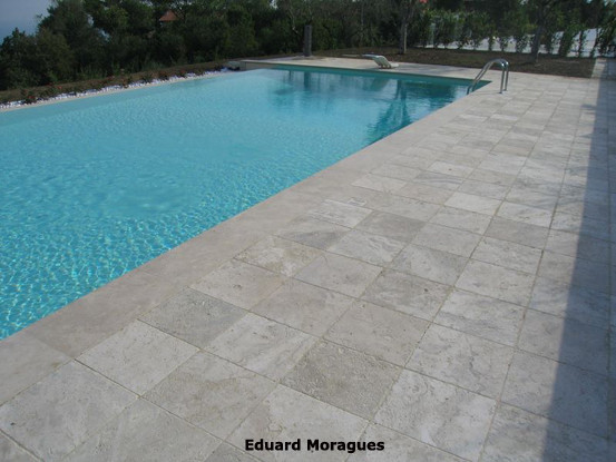 Eduard moragues piedra para el pavimento de piscinas en for Pavimentos para piscinas