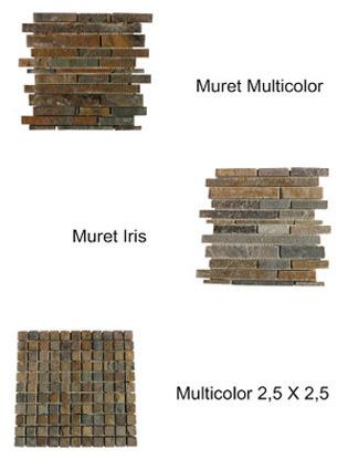 Mosaico de Panel Premontado 30,5x30,5