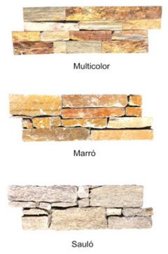 Panel  Rústico Premontado de Piedra