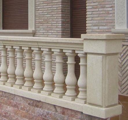 Eduard moragues arcos y balaustres en piedra natural en - Balaustradas de piedra ...
