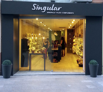 Tienda Singular Lleida, Tienda de Minerales en Lleida