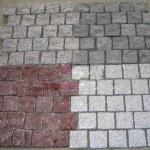 pavimento adoquines combinados