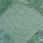 baldosa mármol verde envejecida
