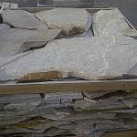 cuarcita blanca irregular en laja