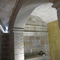 Arco en piedra Vinaixa, Arco en piedra Floresta