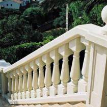 Balaustrada con piedra Vinaixa, Balaustrada en piedra Floresta