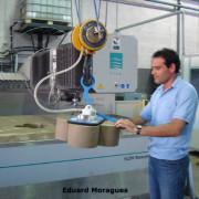Mecanización y corte con chorro agua