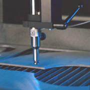 corte de fibra de cristal
