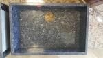 Outlet bajo encimera de granito azul labrador para cocina
