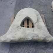 monolito de piedra con forma