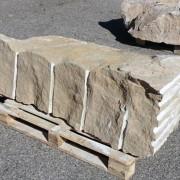 piedra gruesa decorativa tipo bloque